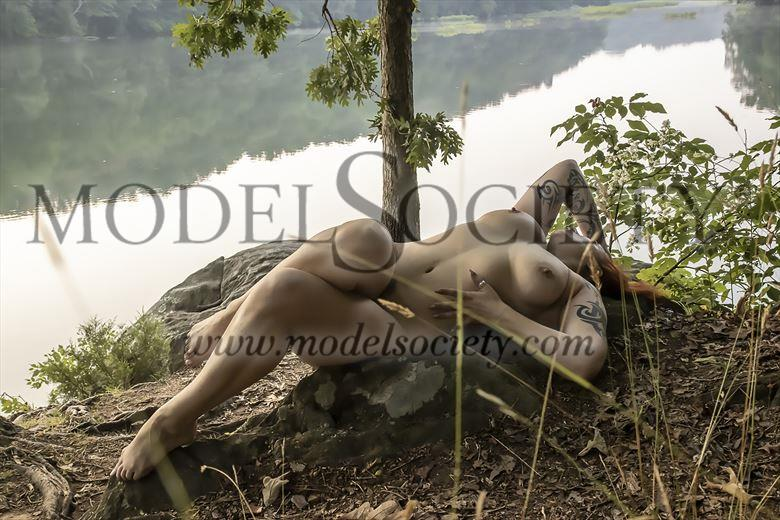 summer day artistic nude artwork by photographer holleystudio