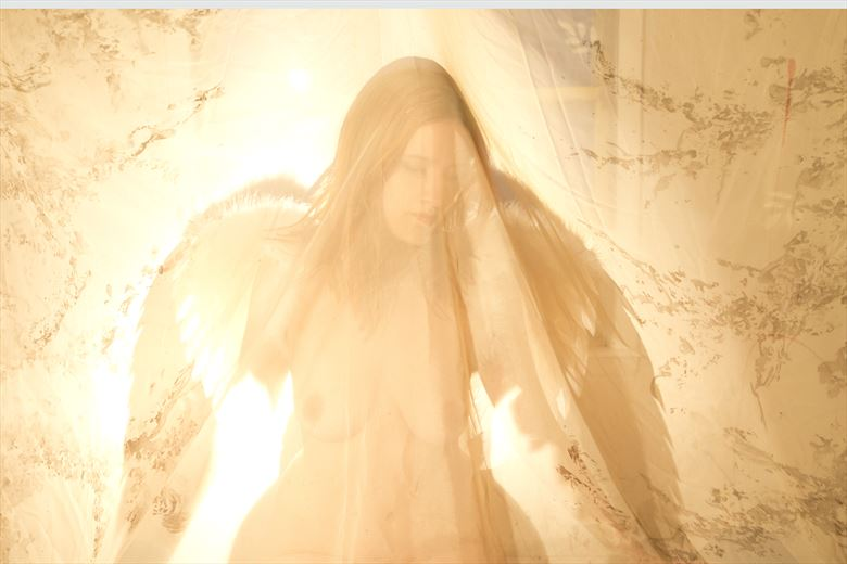sunshine angel figure study photo by photographer ragnar