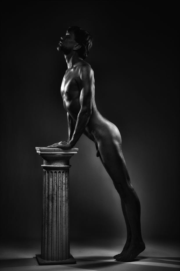 supplication artistic nude photo by photographer r pedersen