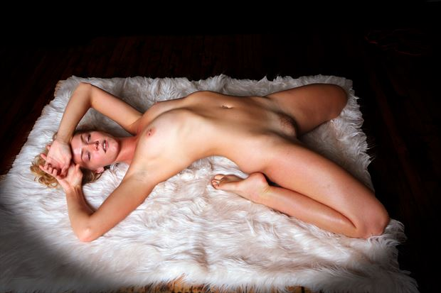 surrender artistic nude photo by photographer robert l person