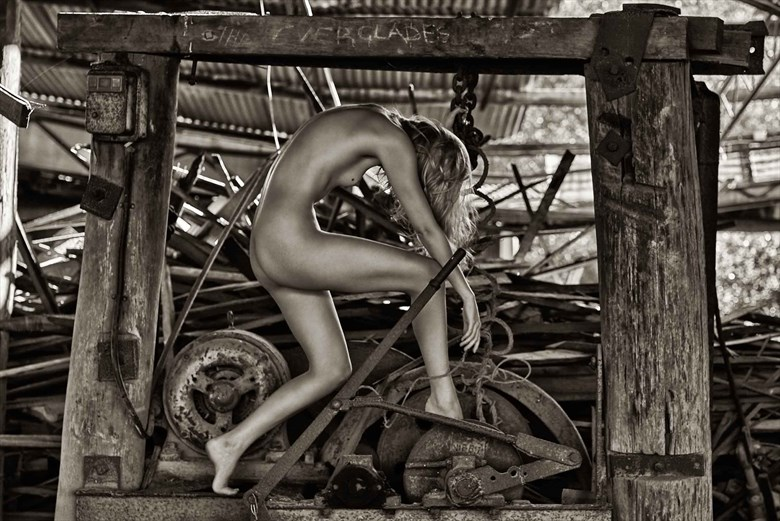 sylph at the mill Artistic Nude Photo by Photographer Keith Persall