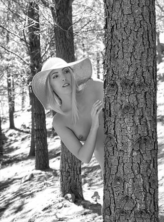 sylph sia forest hide and seek artistic nude photo by photographer pgl05