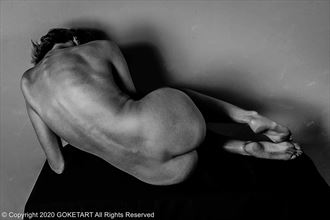 table artistic nude artwork by model kaye