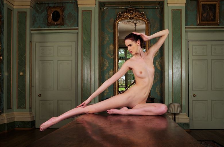 table setting artistic nude photo by photographer russb