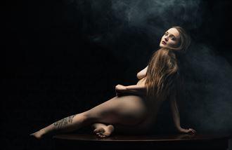 tabletop beauty artistic nude photo by model jentriejane