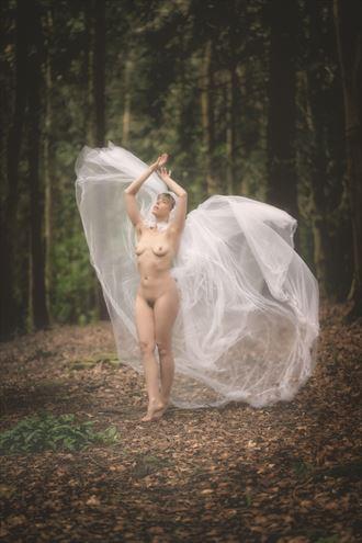 take flight artistic nude photo by model selkie