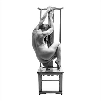 tall chair 1 artistic nude photo by photographer toby maurer