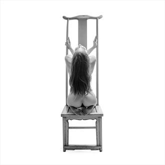 tall chair 2 artistic nude photo by photographer toby maurer