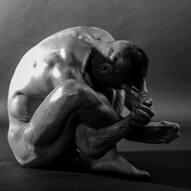 tangled artistic nude artwork by photographer photo kubitza