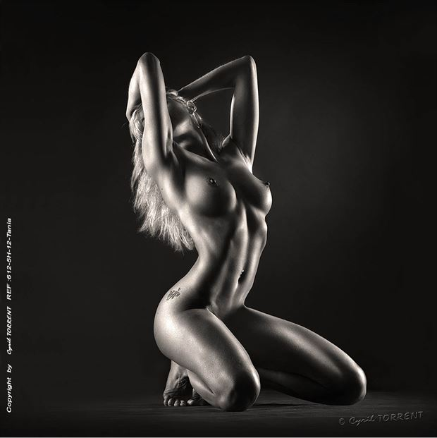 tania artistic nude artwork by photographer cyril torrent