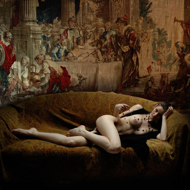tapestry lingerie photo by artist jean jacques andre