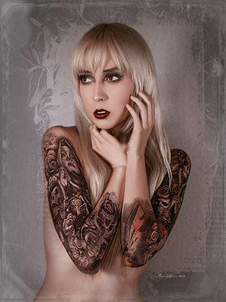 tattoos alternative model photo by photographer nikzart