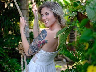tattoos fashion photo by model cherish the model