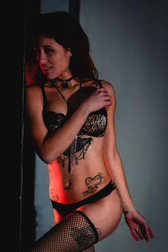tattoos lingerie photo by photographer billmanphotography