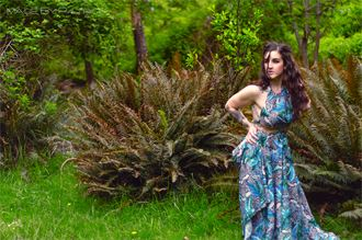 tattoos nature photo by model megg kelly