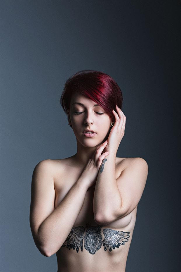 tattoos sensual artwork by model ruga veneno