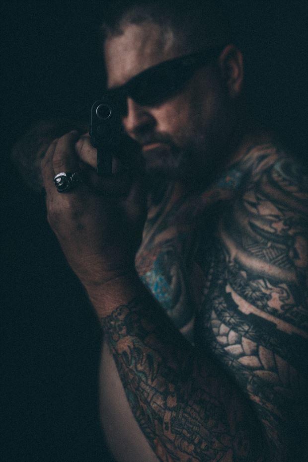 tattoos studio lighting photo by photographer kengehring
