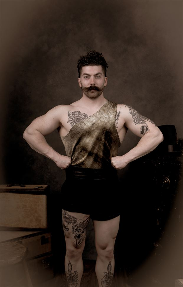 tattoos vintage style photo by photographer kengehring