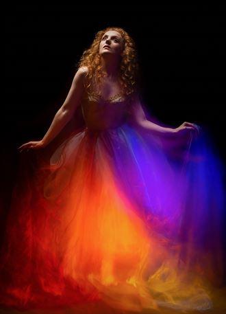 technicolour dress fantasy photo by photographer strain967