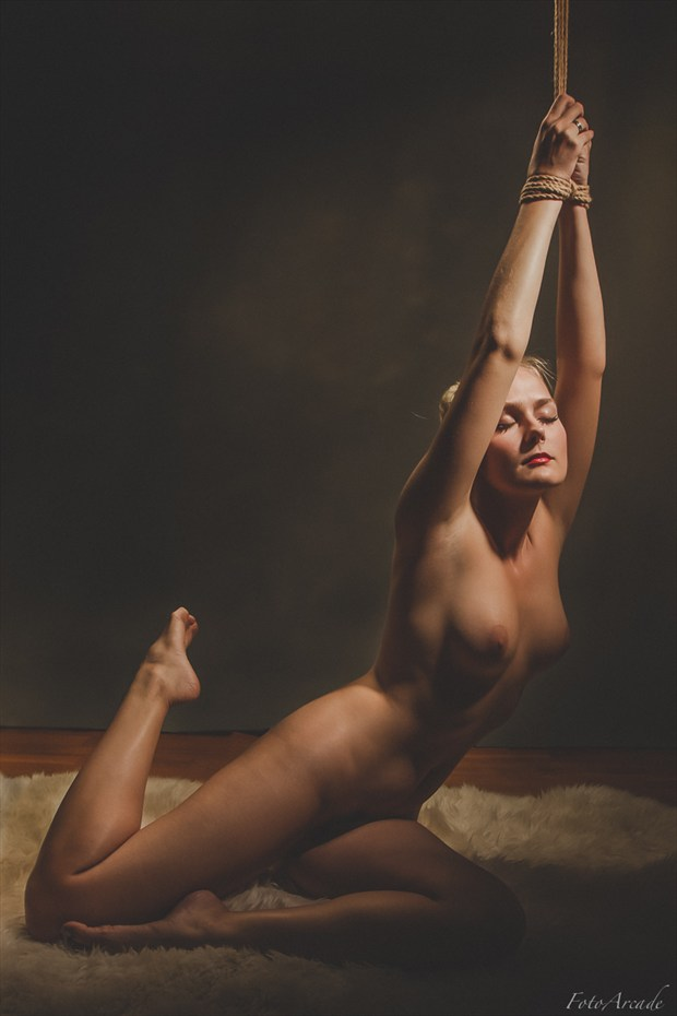 tethered  Artistic Nude Photo by Photographer FotoArcade