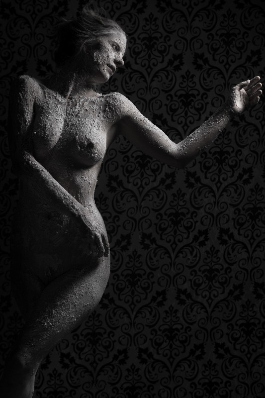 texture Artistic Nude Photo by Model Joanna