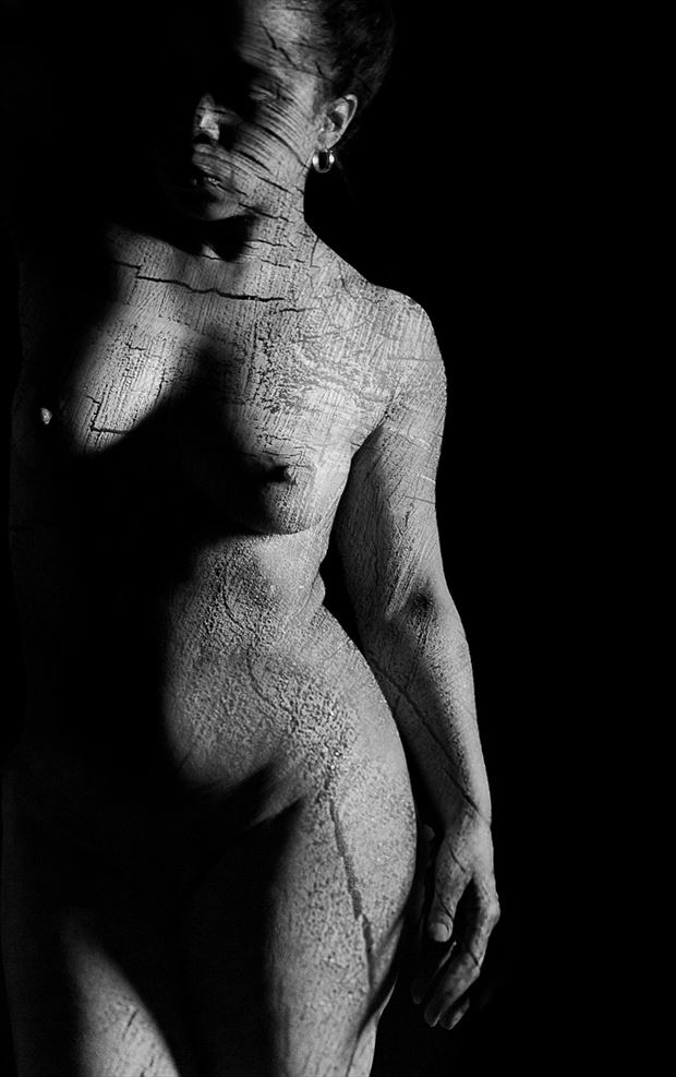 texture artistic nude photo by photographer claude frenette
