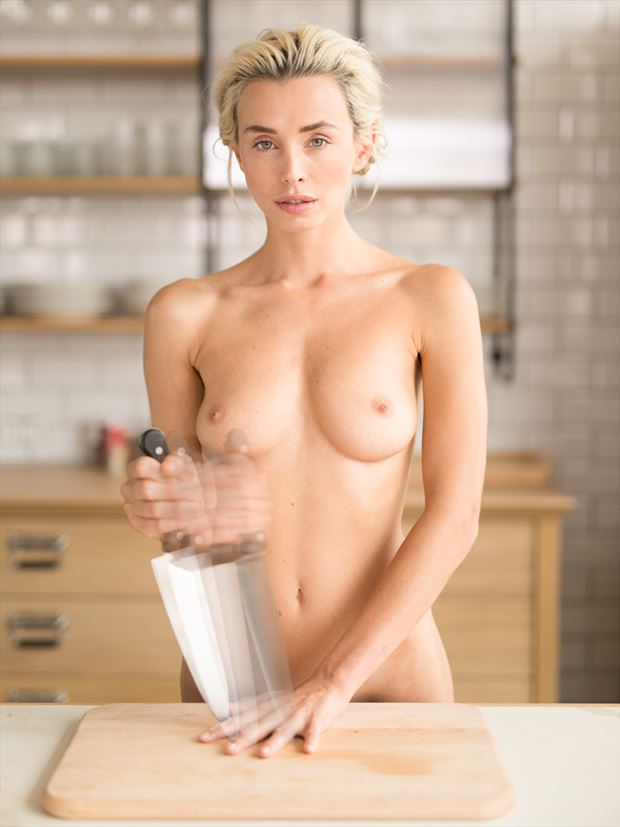 that trick with a knife artistic nude photo by photographer mr muliebris