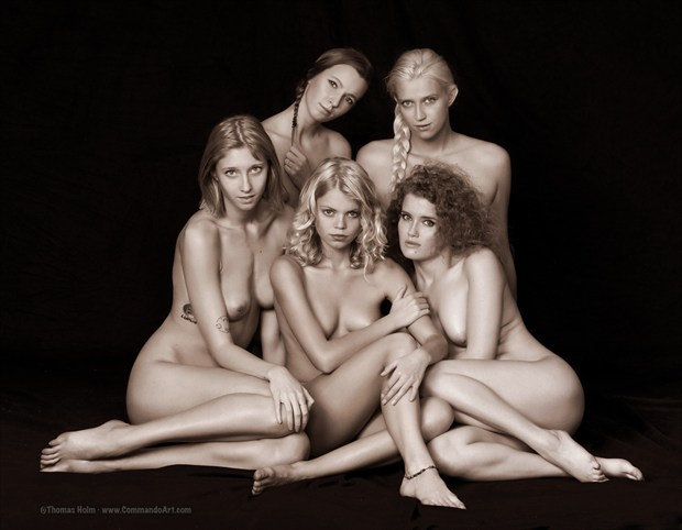 the A team  Artistic Nude Photo by Model Rakel Osk