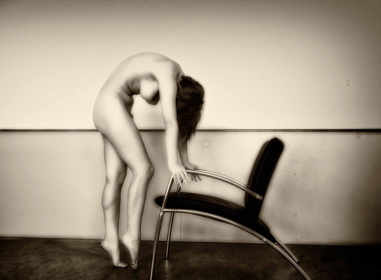 the Chair Artistic Nude Photo by Photographer BenErnst