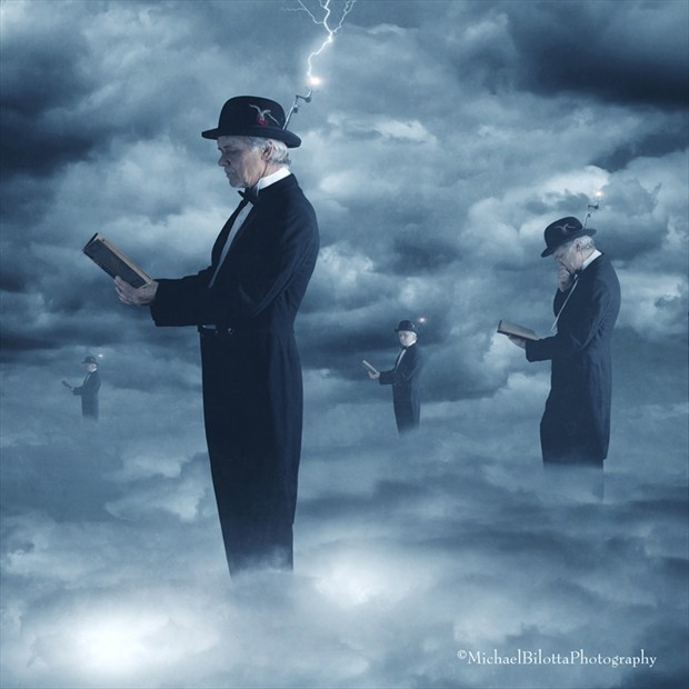 the CloudMinders Surreal Photo by Photographer Michael Bilotta