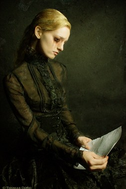 the Letter Vintage Style Photo by Photographer Thomas Dodd