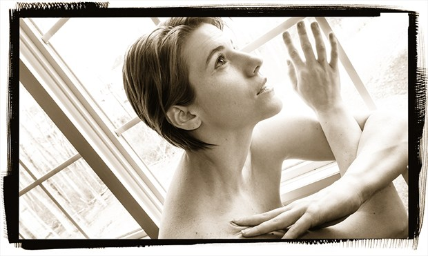 the Love of Light Artistic Nude Photo by Model Tricia DeAnne
