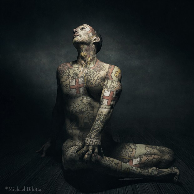 the Mote and the Beam Artistic Nude Photo by Photographer Michael Bilotta