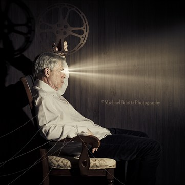 the Projection Room Surreal Photo by Photographer Michael Bilotta