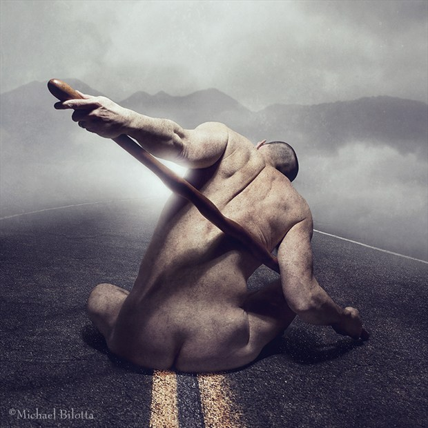 the Road to Damascus Artistic Nude Photo by Photographer Michael Bilotta