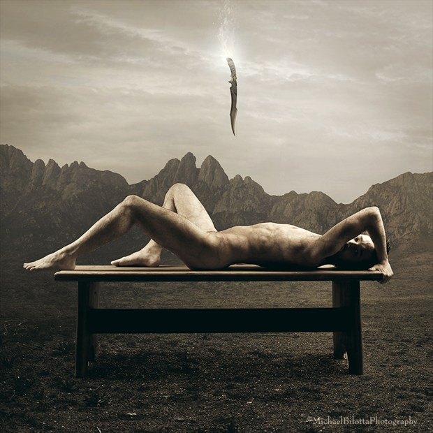 the Sacrifice of Isaac (revisited) Artistic Nude Photo by Photographer Michael Bilotta