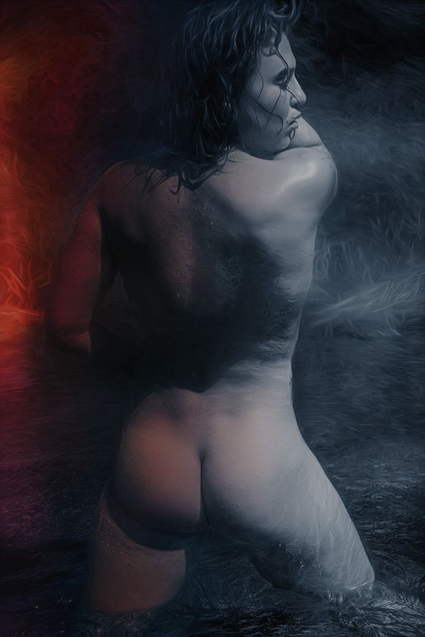 the alchemist artistic nude artwork by artist todd f jerde