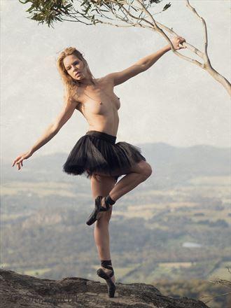 the ballerina nature photo by photographer sensual artz