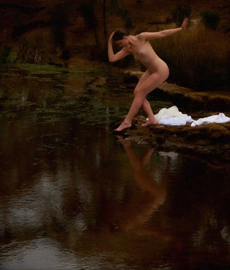 the bather artistic nude photo by photographer tfa photography