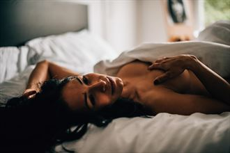 the bed artistic nude photo by model ultradiva