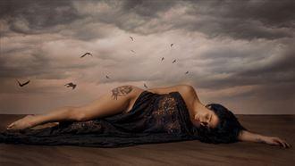 the birds artistic nude photo by photographer fischer fine art