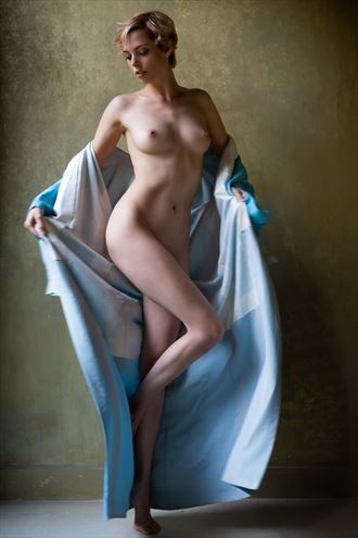 the blue kimono ( Boulevard of Dreams) Artistic Nude Photo by Photographer BenErnst