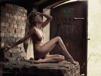 the brick table artistic nude photo by photographer patriks