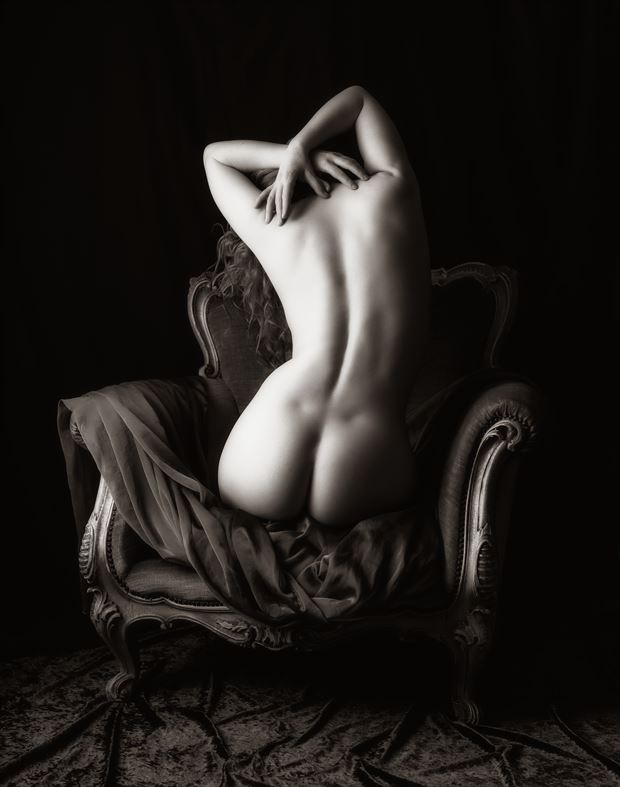 the chair artistic nude photo by photographer neilh