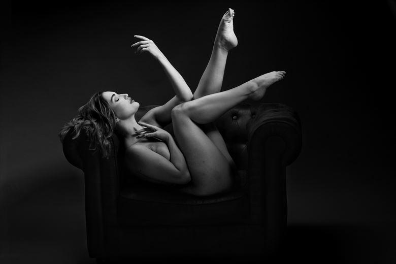 the chair vi rachelle artistic nude photo by photographer joseph eldridge