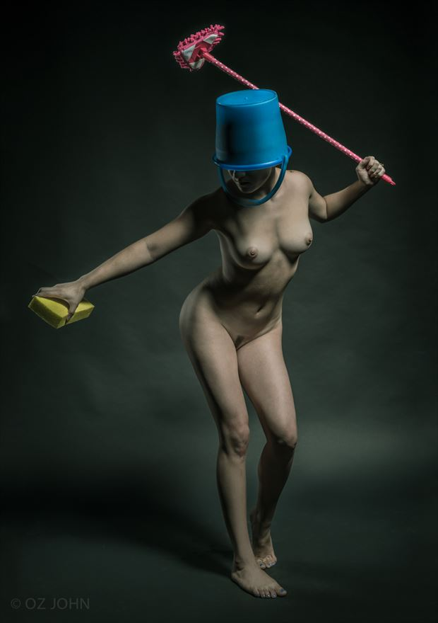 the cleaner artistic nude photo by photographer o j