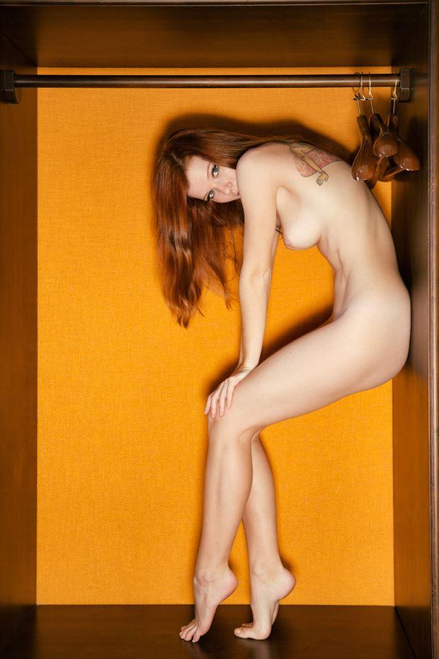 the closet artistic nude photo by photographer john deckard