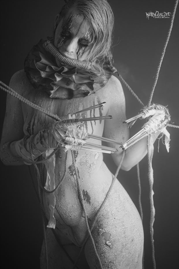 the clown keeps quiet erotic photo by photographer ketten2006art