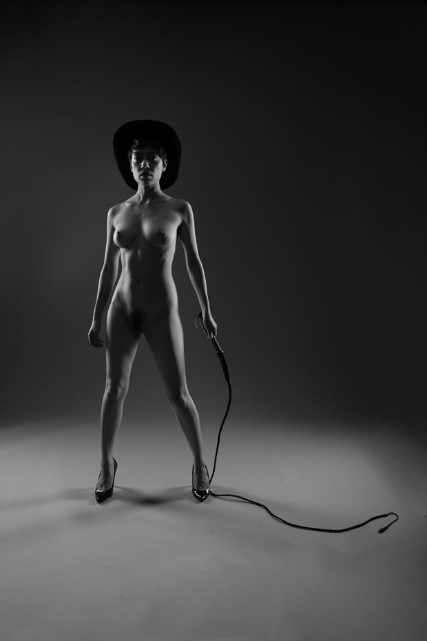 the cowgirl artistic nude photo by photographer paul brady