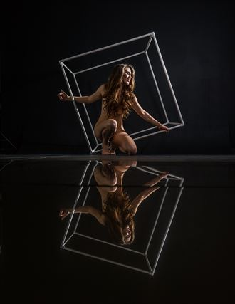 the cube artistic nude artwork by photographer mechasean